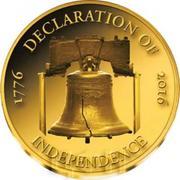 100 Francs CFA (Déclaration d'indépendance des États-Unis) – revers