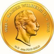 100 Francs CFA (Empereur Wilhelm II) – revers