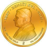 100 Francs CFA (Pape Benoît XVI) – revers