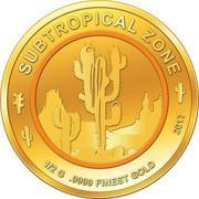 100 Francs CFA (Cactus) – revers