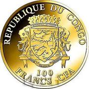 100 Francs CFA (Kangourou) – avers