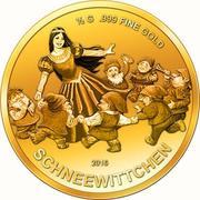 100 Francs CFA (Blanche-Neige et les Sept Nains) – revers