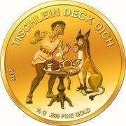 100 Francs CFA (La Petite Table, l'Âne et le Bâton) – revers
