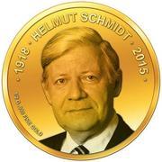 100 Francs CFA (Helmut Schmidt) – revers