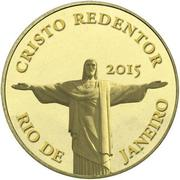 100 Francs CFA (Christ the Redeemer) – revers