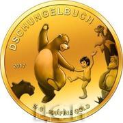 100 francs CFA Le Livre de la jungle – revers