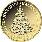 100 Francs CFA (Sapin de Noel) – revers