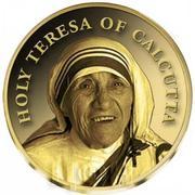 100 Francs CFA (Mère Teresa) – revers