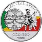 20 Francs CFA (Teke) – revers