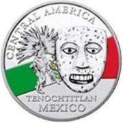 20 Francs CFA (Tenochtitlan) – revers