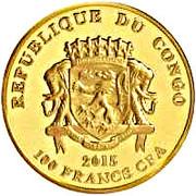 100 Francs CFA (Yupik) – avers