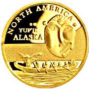 100 Francs CFA (Yupik) – revers