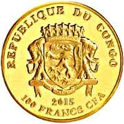 100 Francs CFA (Teke) – avers