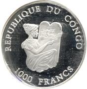 1000 francs bateau portuguais – avers