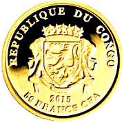 50 Francs CFA (Yupik) – avers