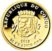 50 Francs CFA (Teke) – avers