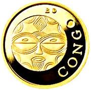 50 Francs CFA (Teke) – revers