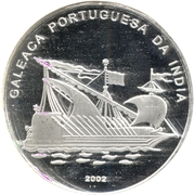 1000 francs bateau portuguais – revers