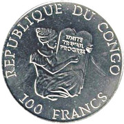 100 francs (Jeux olympiques Sydney 2000) – avers