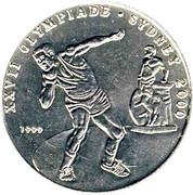 100 francs (Jeux olympiques Sydney 2000) – revers