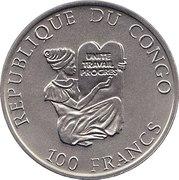 100 Francs (Junkers JU52) – avers