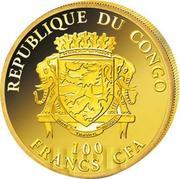 100 francs CFA Vincent van Gogh – avers