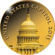 100 Francs CFA (US Capitol) – revers