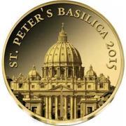 100 Francs CFA (St. Peter's Basilica) – revers