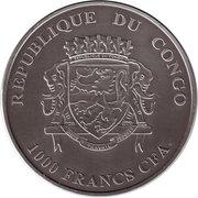 1000 Francs (Silver Bullion Coinage) – avers