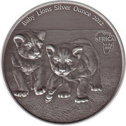 1000 Francs (Silver Bullion Coinage) – revers
