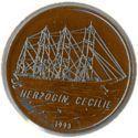 100 Francs CFA (Le Herzogin Cecilie) – revers