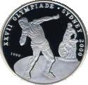 1000 Francs (Jeux olympiques Sydney 2000) – revers