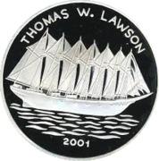 1000 Francs CFA (Thomas W. Lawson) – revers