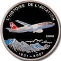 1000 Francs CFA (Swiss A-3000) – revers