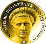 1500 Francs CFA (Augustus) – revers