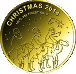 100 Francs CFA (Christmas) – revers