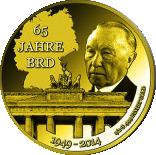 100 Francs CFA (German Federal Republic) – revers