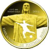 100 Francs CFA (Coupe du monde de football 2014) – revers