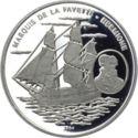 1000 Francs CFA (Hermione) – revers