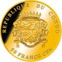 50 Francs CFA (Krugerrand) – avers