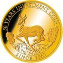 50 Francs CFA (Krugerrand) – revers