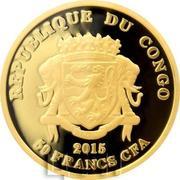 50 Francs CFA (Tenochtitlan) – avers