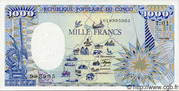 1,000 Francs -  avers
