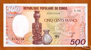 500 Francs -  avers