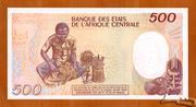 500 Francs -  revers