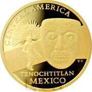 100 Francs CFA (Tenochtitlan) – revers