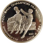 1000 Francs CFA (Coupe du monde de football Italie 1990) – revers