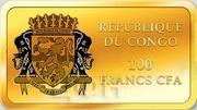 100 Francs CFA (Simon Zelotes) – avers