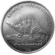 100 Francs (Polacanthus) – revers