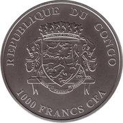 1000 Francs CFA (Mursi) – avers